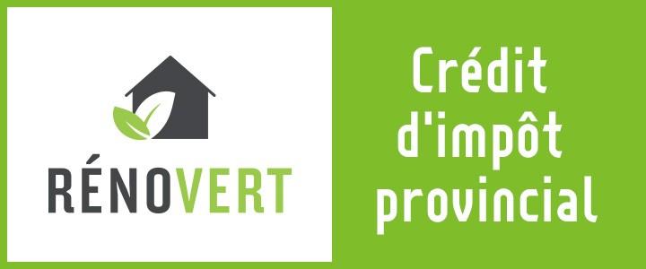 Prolongation du Crédit RénoVert, jusqu'au 31 mars 2019