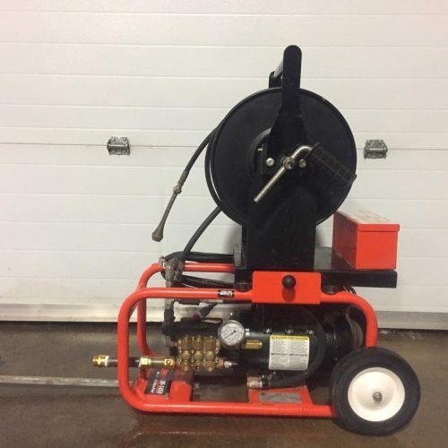 Machinerie nettoyage et entretien à haute pression